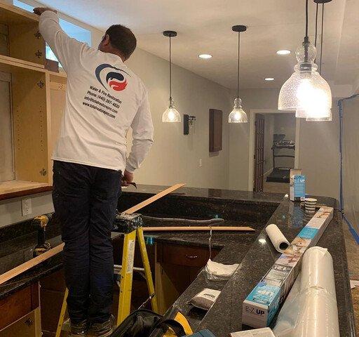 Total Restore Cabinet Installation